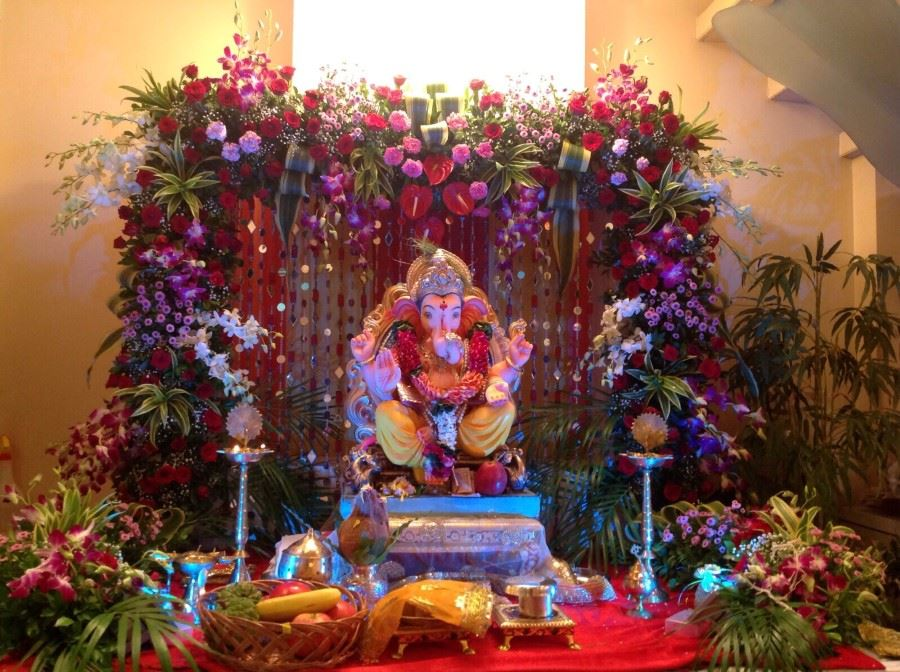 Decoration photo ganpati for Decoration ganpati