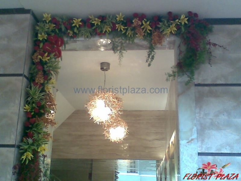 Gate Decoration, Office Gate Decoration, Factory Gate